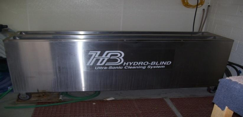 Ultrasonic Blind Cleaner