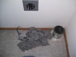 Blocked Dryer Vent