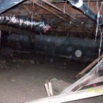 Crawl Space with Debris