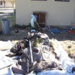 Crawl Space Building Debris