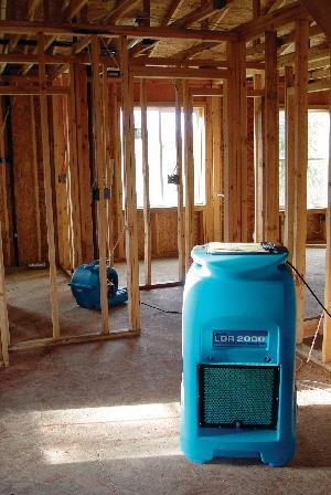 Water Damage New Construction