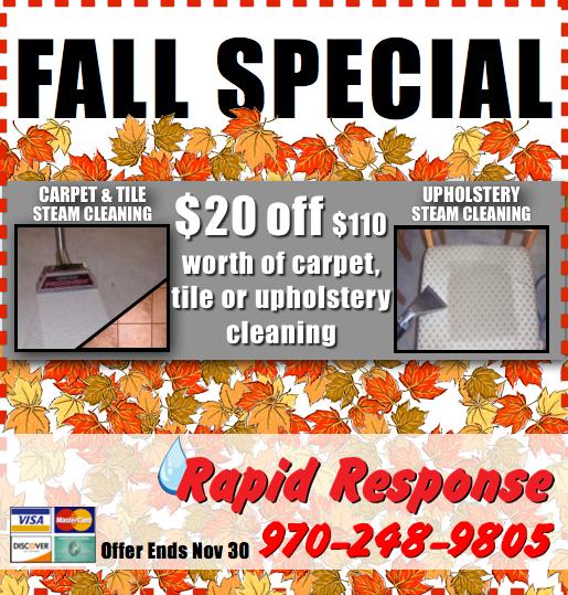 Fall Specials 2015